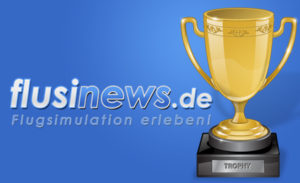 flusinews.de Logo mit Pokal