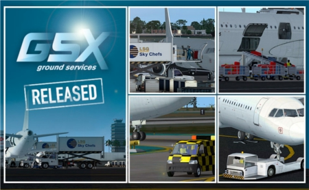 FSDT released Ground Services for FSX