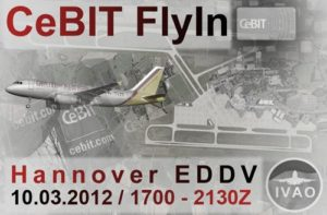 IVAO FlyIn zur CeBIT in Hannover