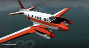 Carenado's C90 King Air - Last Screenshots before release