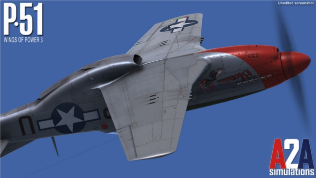 A2A released die P-51