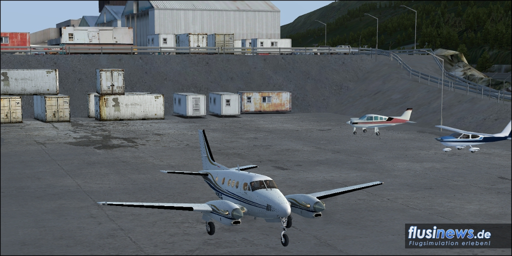 Carenado C90B King Air Review Bild 15