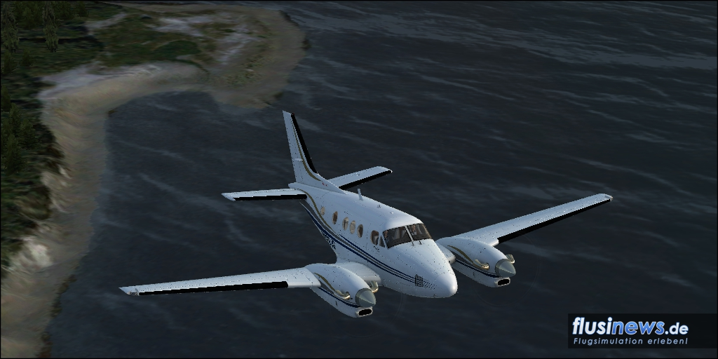 Carenado C90B King Air Review Bild 16