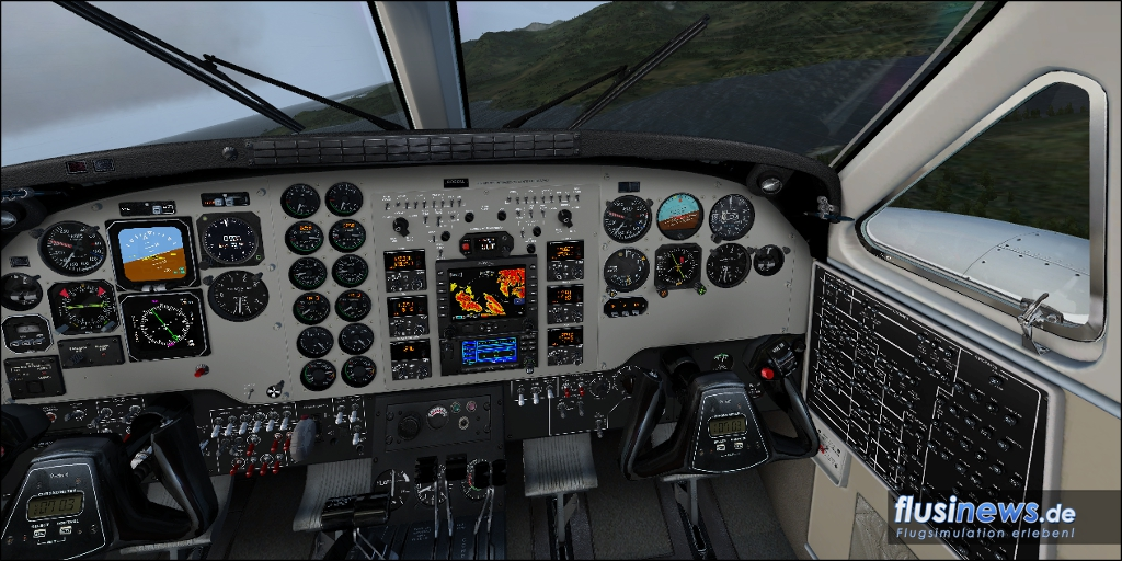 Carenado C90B King Air Review Bild 17