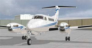 Flight1 arbeitet an einer Super King Air 200