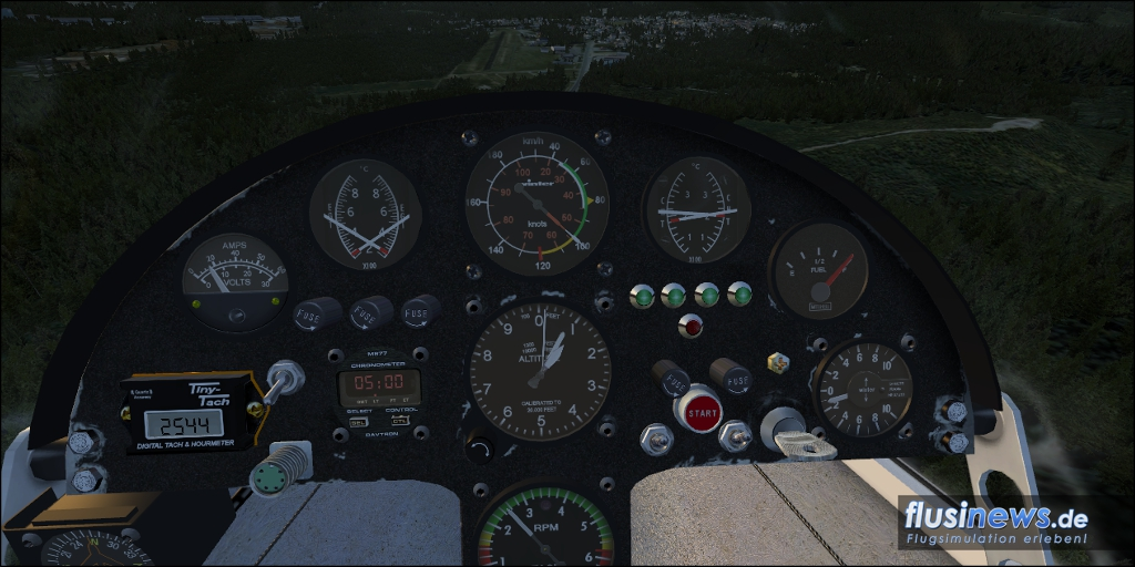 Mitchell Wing U2 Aerosoft-Freeware Bild 04