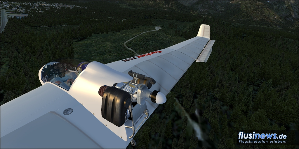 Mitchell Wing U2 Aerosoft-Freeware Bild 05