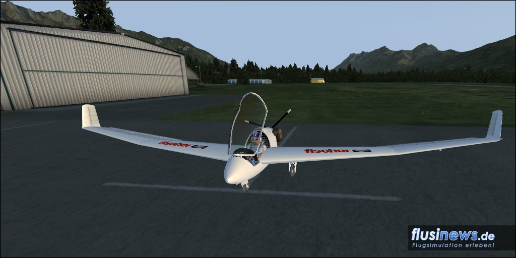 Mitchell Wing U2 Aerosoft-Freeware Bild 15