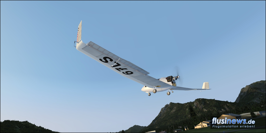 Mitchell Wing U2 Aerosoft-Freeware Bild 17