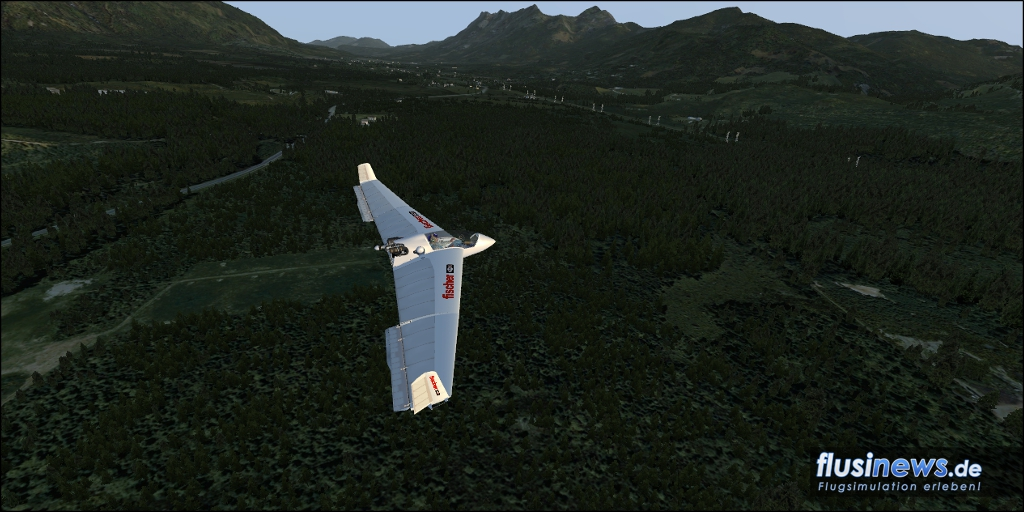 Mitchell Wing U2 Aerosoft-Freeware Bild 20