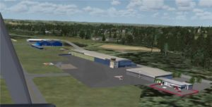 Saarlouis-Dren als FSX-Freeware