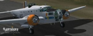 Flysimware Beechcraft AT-11 Kansan