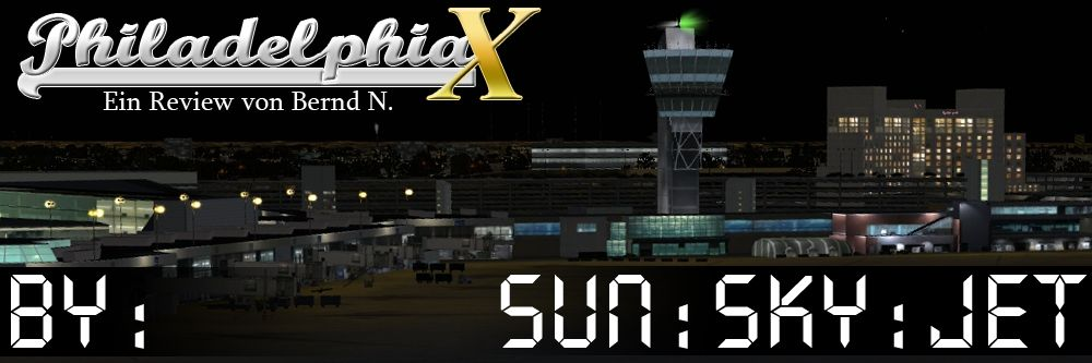 Freeware-Review: Sun SkyJet Philadelphia X - Banner