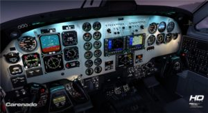 Carenado released die King Air 200 fr den FSX Bild 2
