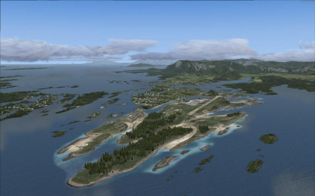 Airports of Norway FSX Fotountergrund
