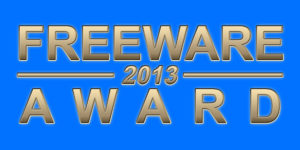 Freeware Award 2013
