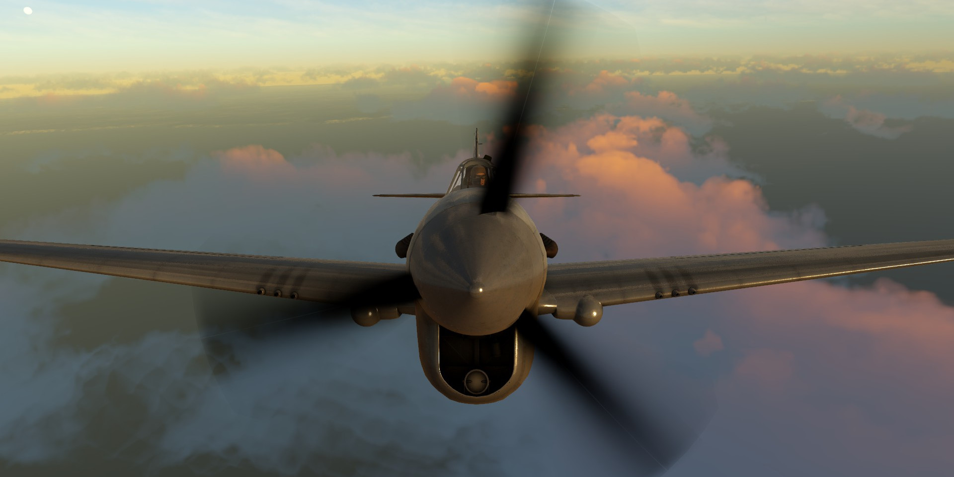 Flight Sim World P-40 Warhawk