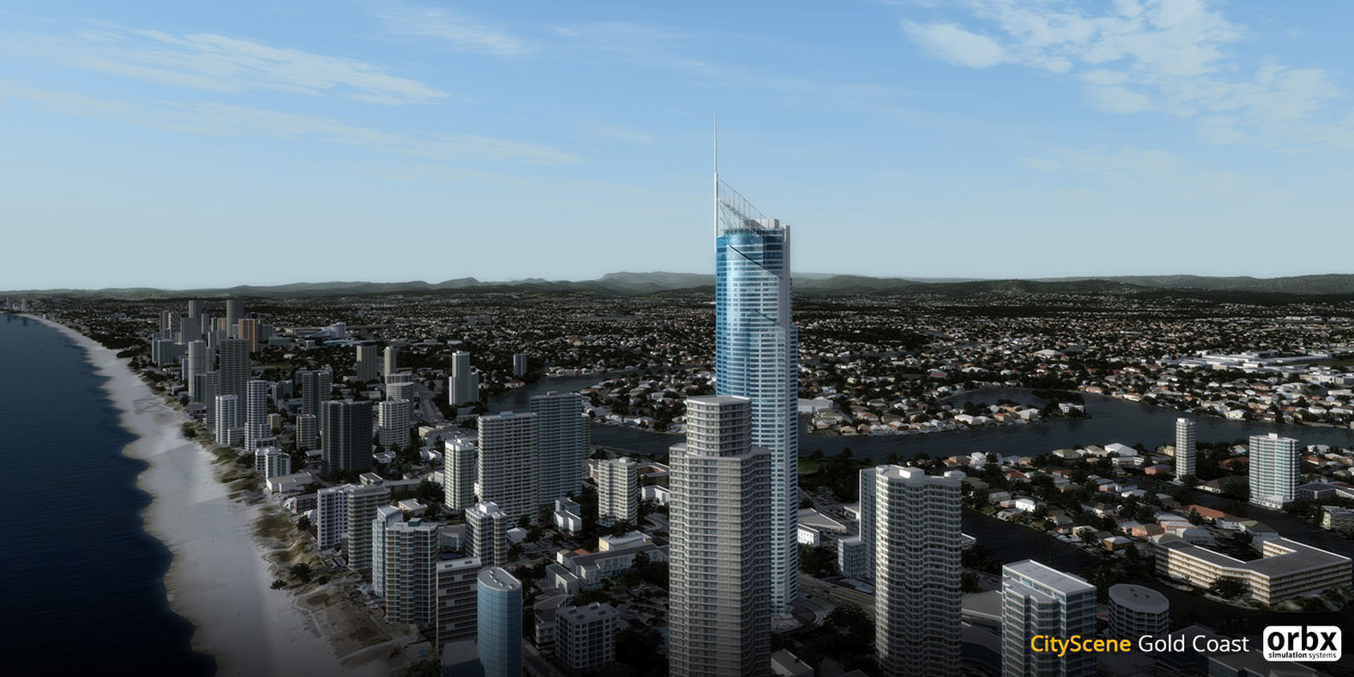 Orbx CityScene Gold Coast Previews