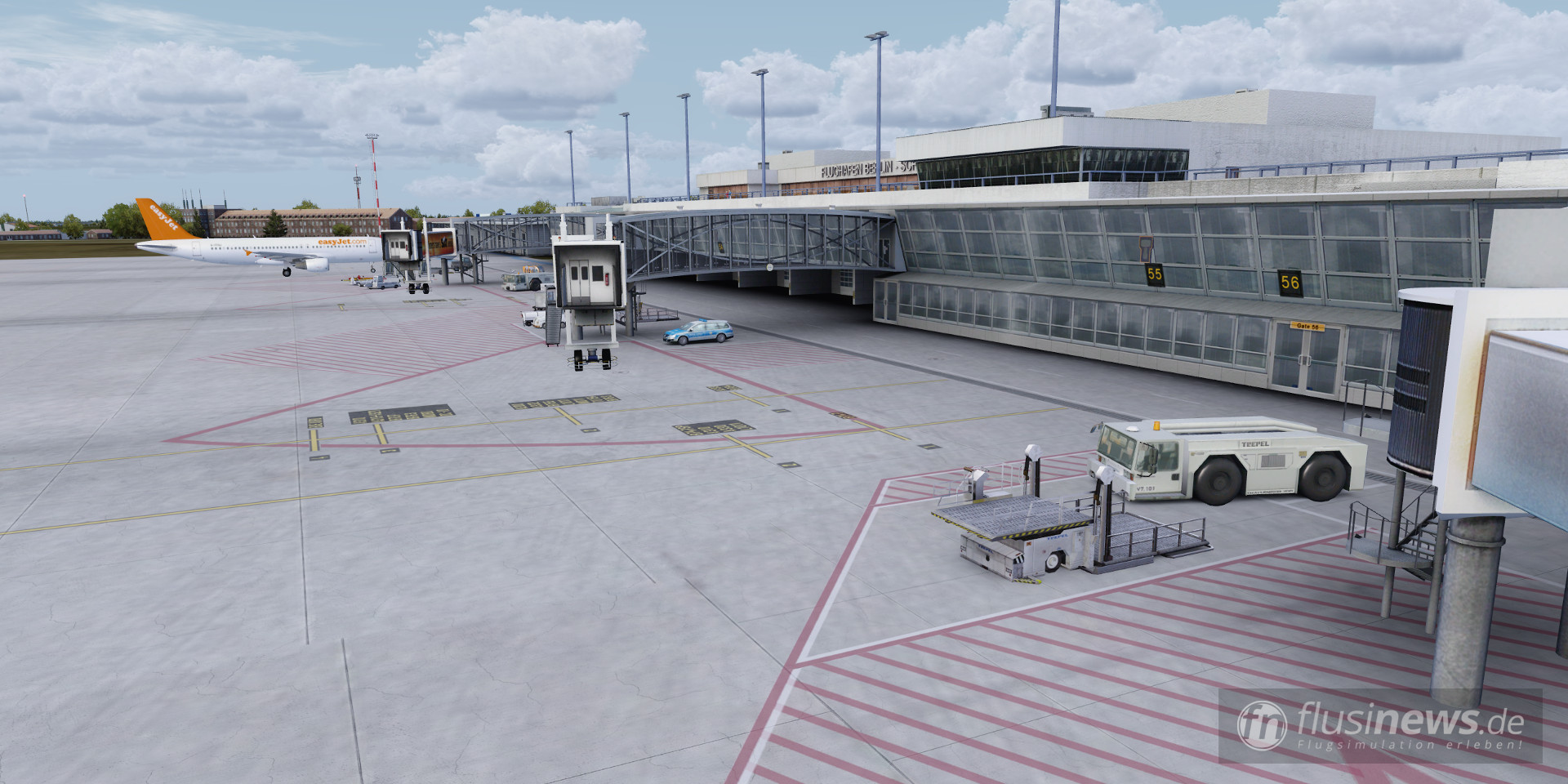 Aerosoft Mega Airport Berlin-Brandenburg professional fnDE Review 04