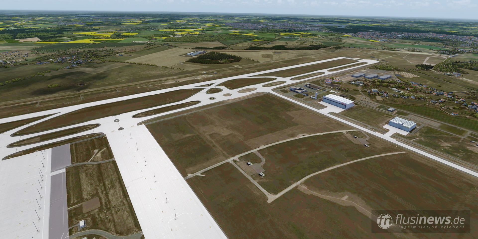 Aerosoft Mega Airport Berlin-Brandenburg professional fnDE Review 11