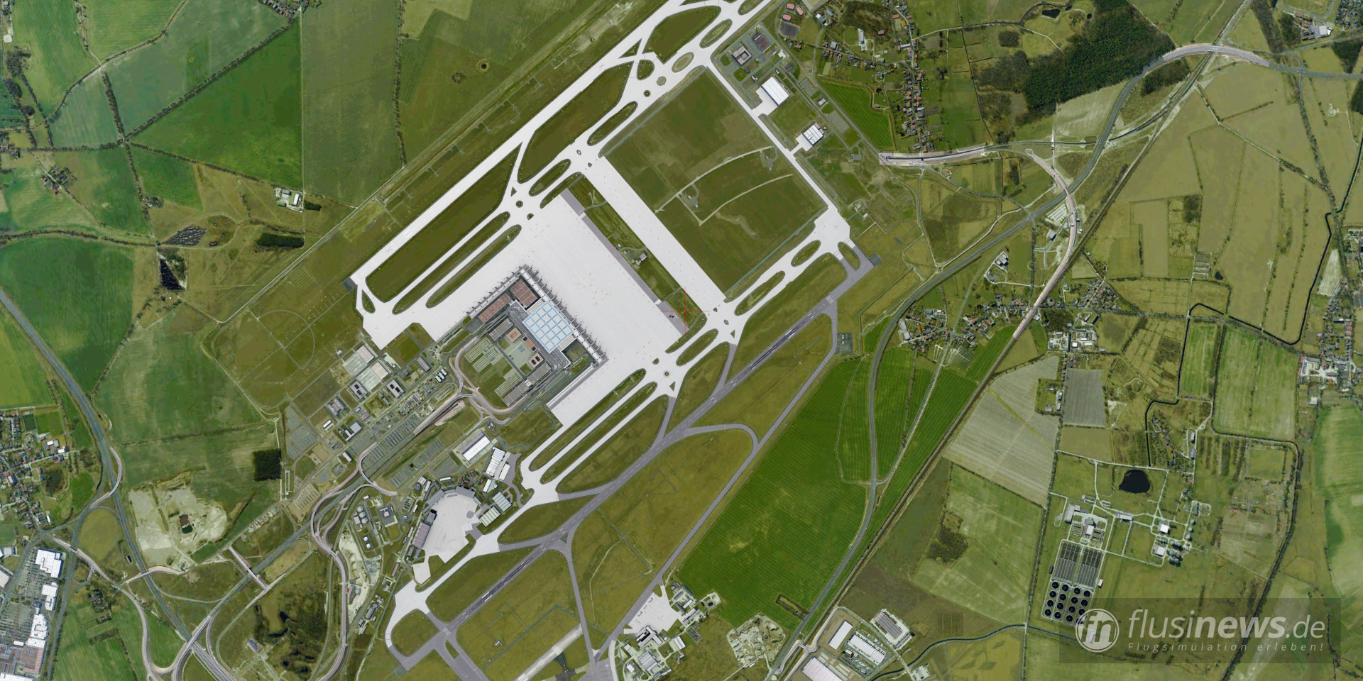 Aerosoft Mega Airport Berlin-Brandenburg professional fnDE Review 35
