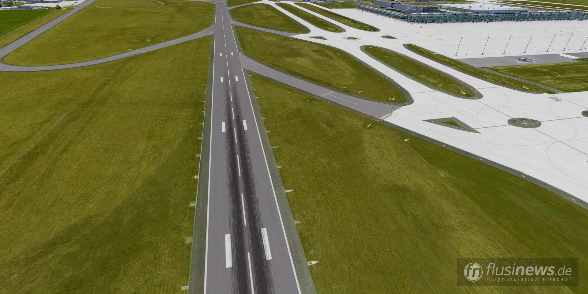 Aerosoft Mega Airport Berlin-Brandenburg professional fnDE Review 37