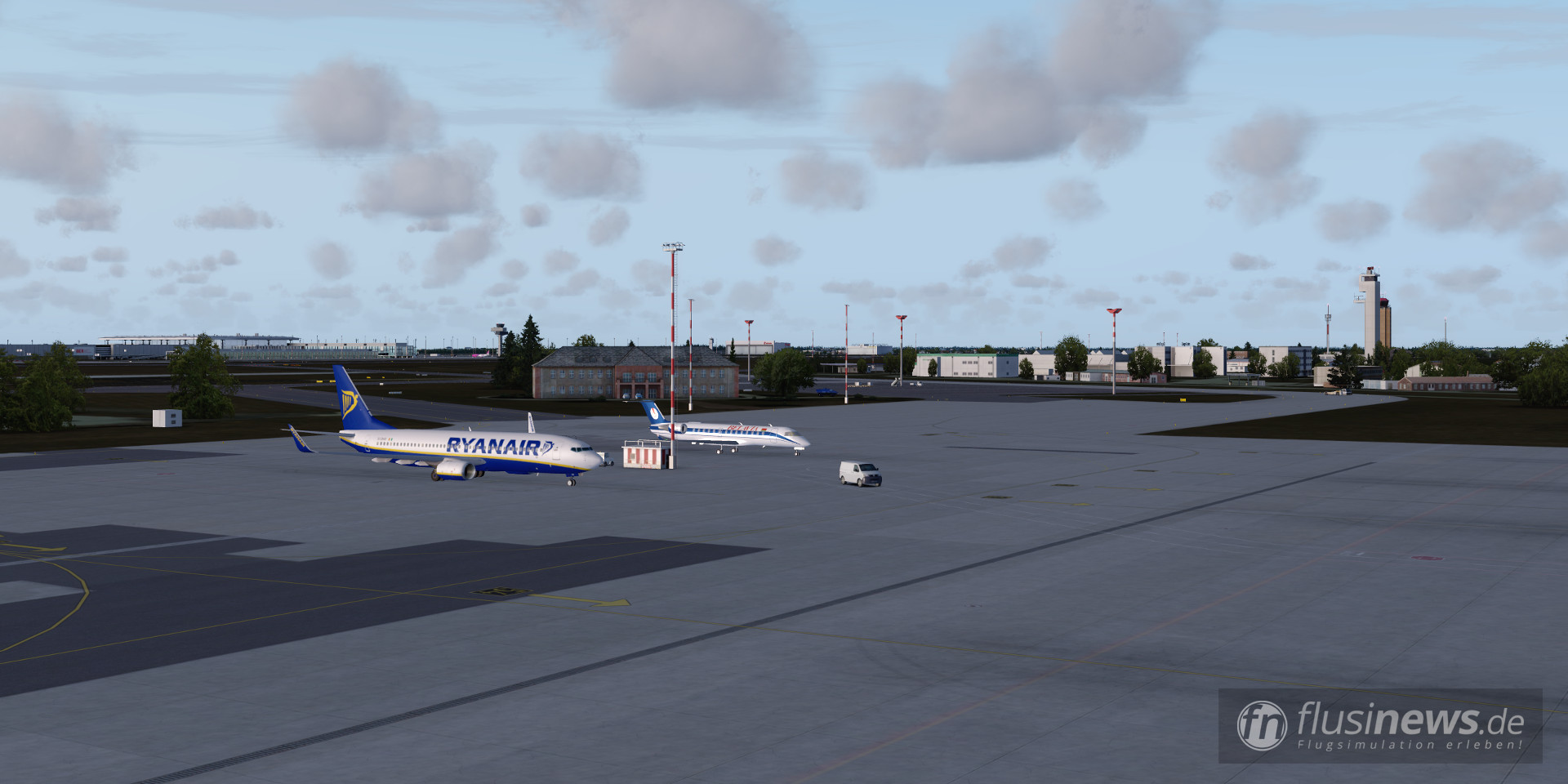 Aerosoft Mega Airport Berlin-Brandenburg professional fnDE Review 43