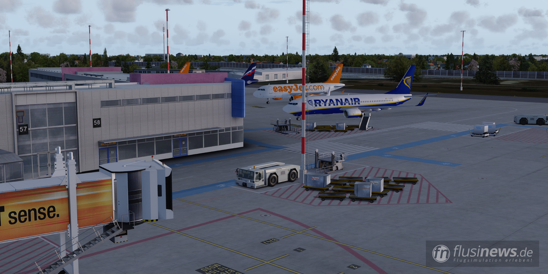 Aerosoft Mega Airport Berlin-Brandenburg professional fnDE Review 44