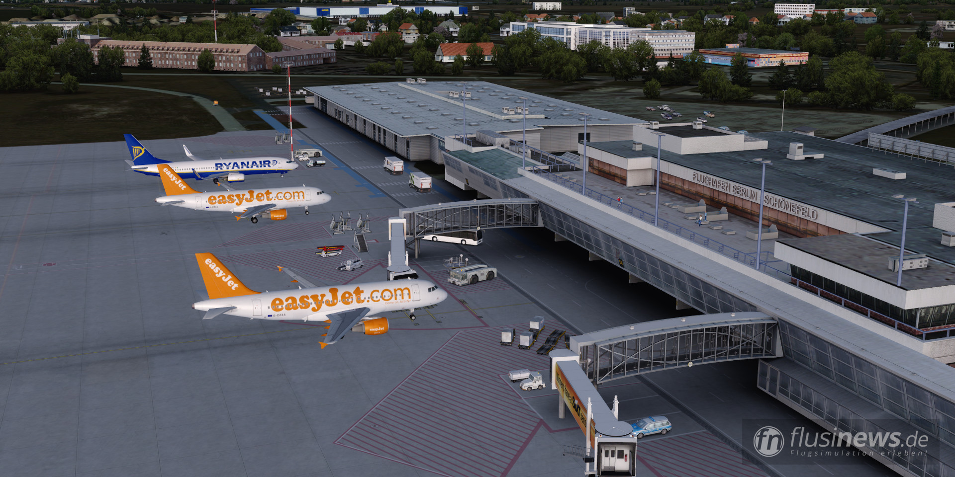 Aerosoft Mega Airport Berlin-Brandenburg professional fnDE Review 46