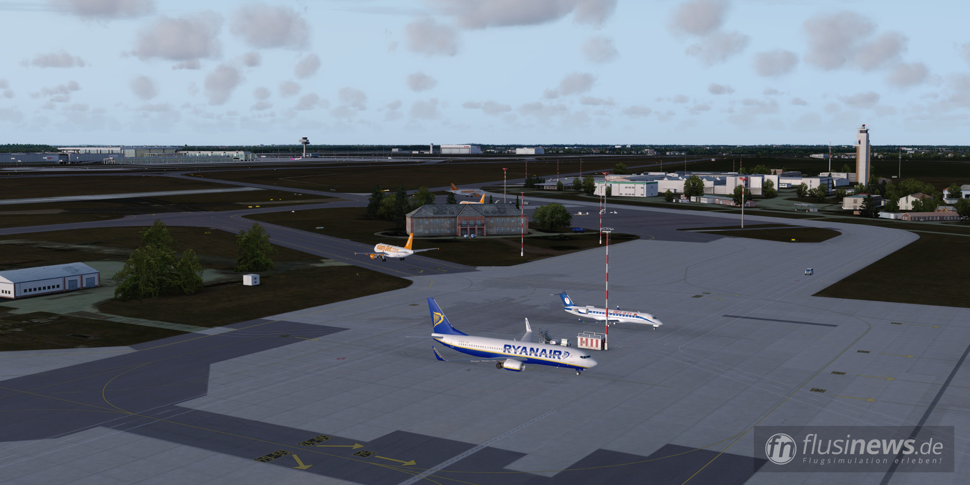 Aerosoft Mega Airport Berlin-Brandenburg professional fnDE Review 47