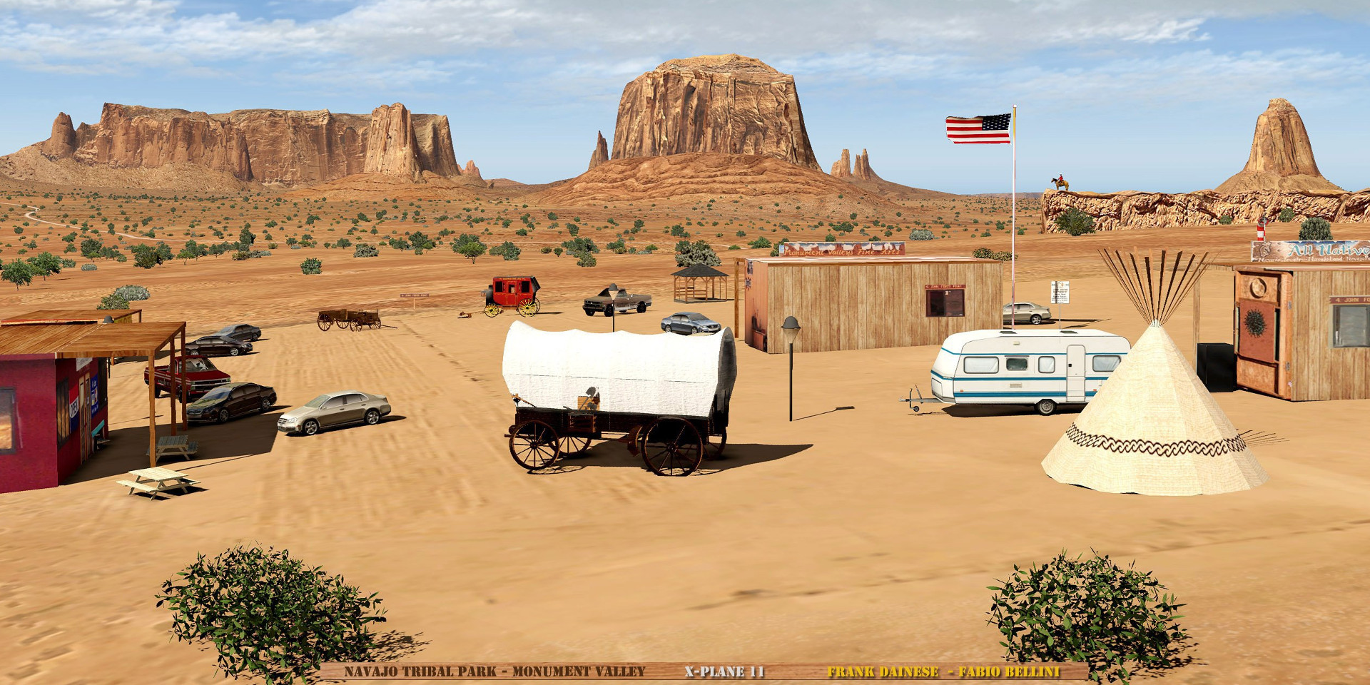 Frank Dainese Monument Valley X-Plane 11