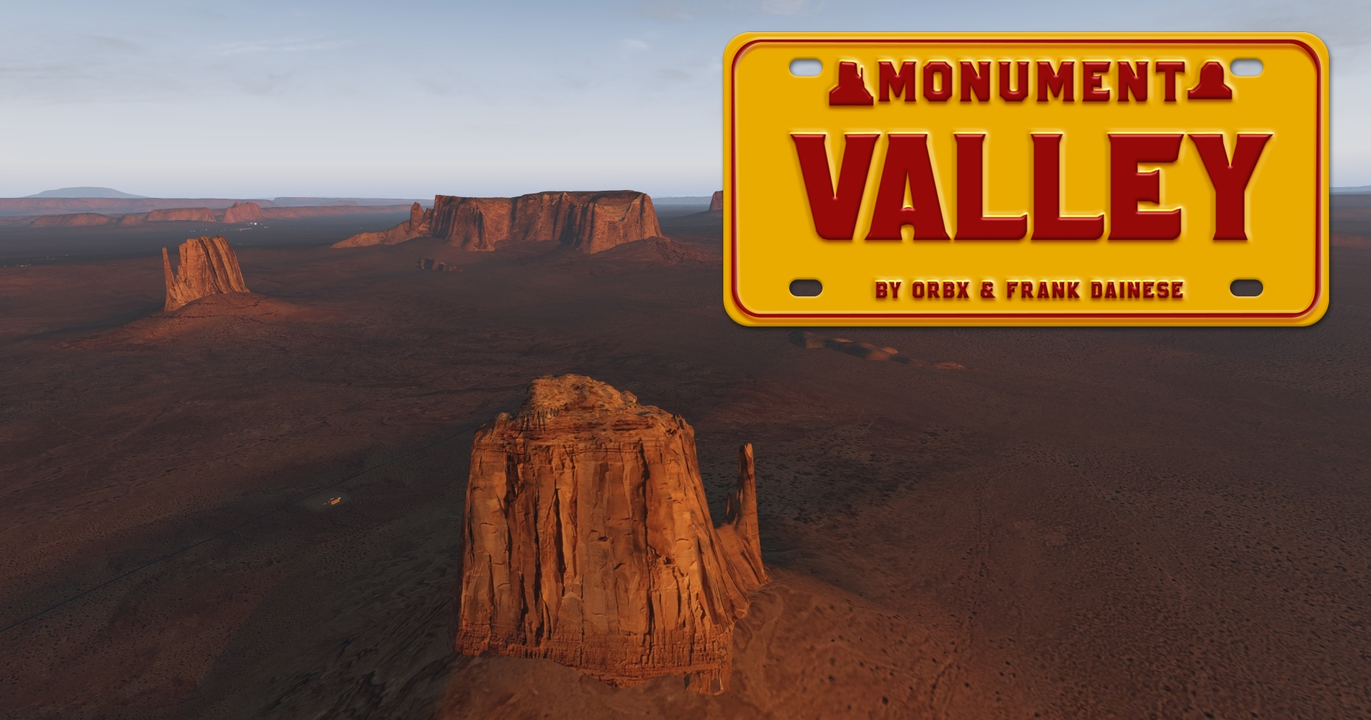 Review: Orbx & Frank Dainese - Monument Valley für X-Plane 11