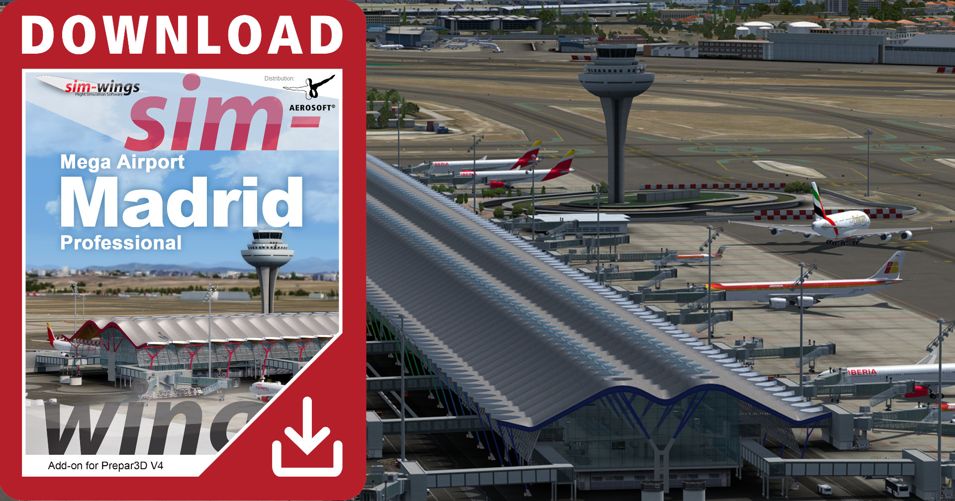 Mega Airport Madrid Release
