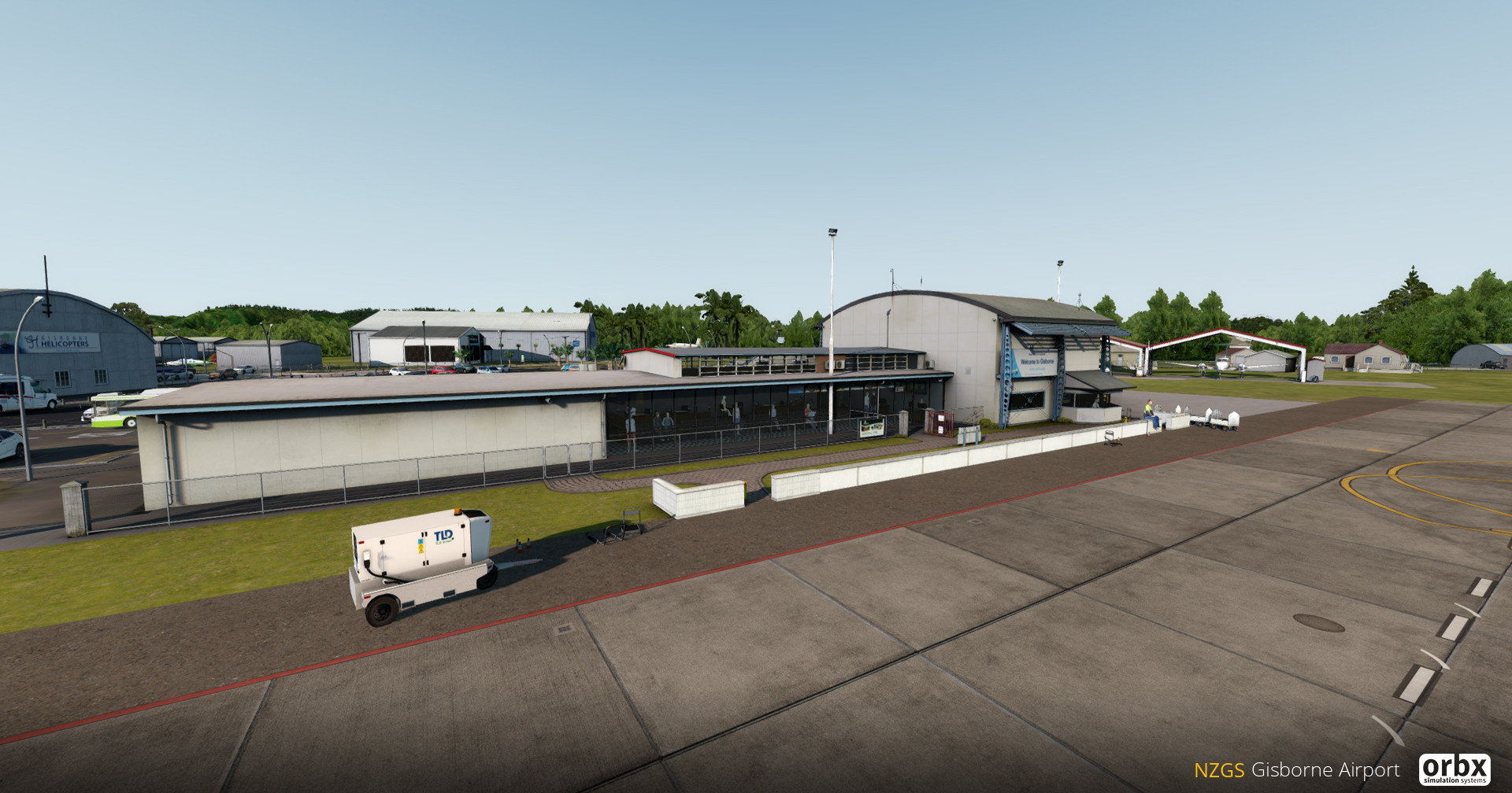 Orbx NZGS Gisborne Airport Preview
