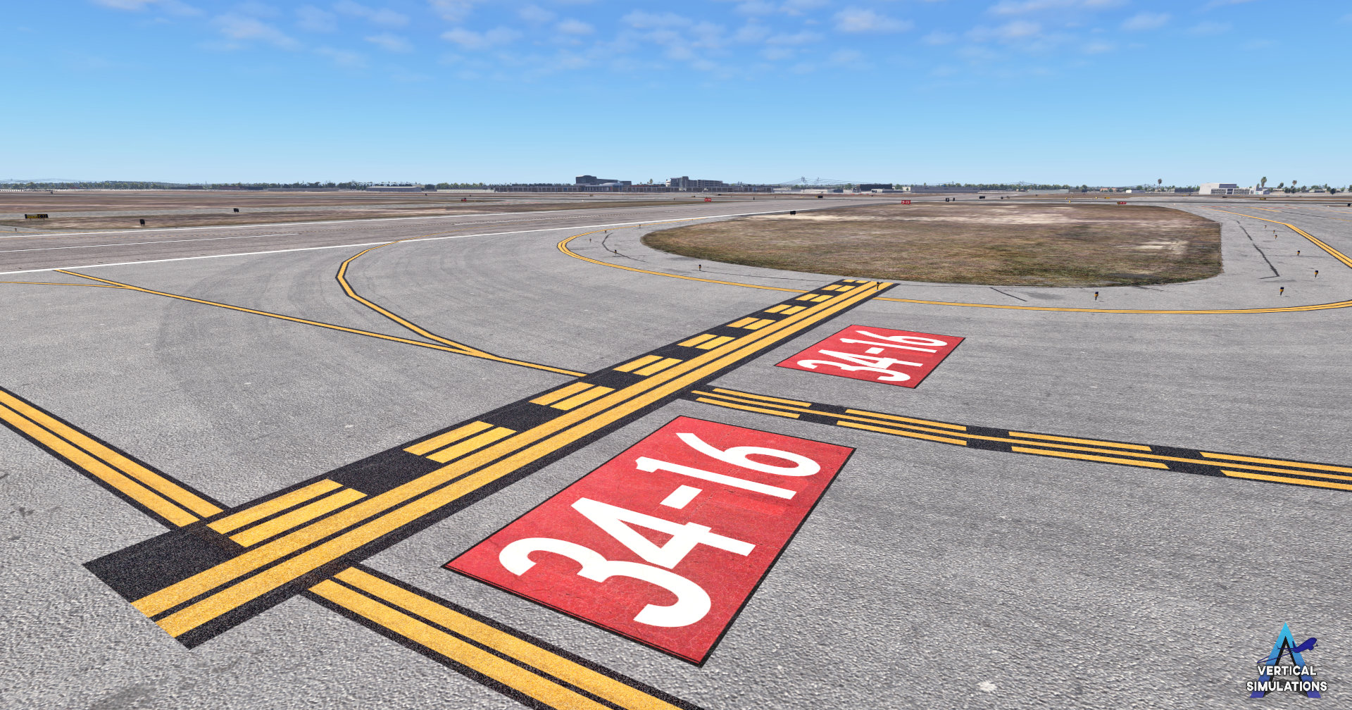 Vertical Simulations T. F. Green International Airport X-Plane 11