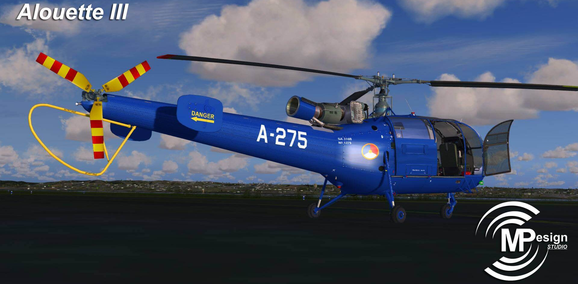 Alouette III MP Design Studio Preview