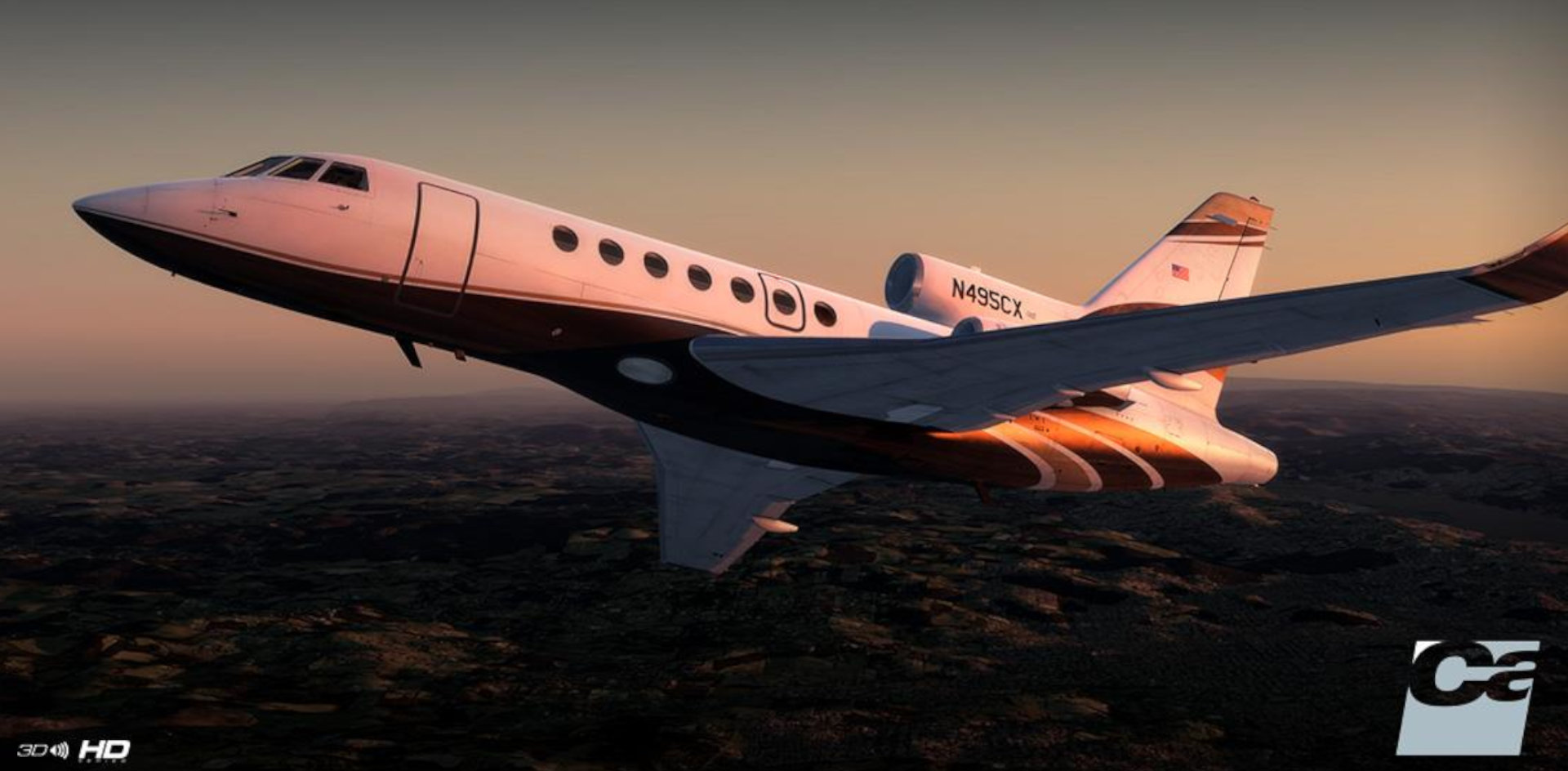 Carenado Falcon 50
