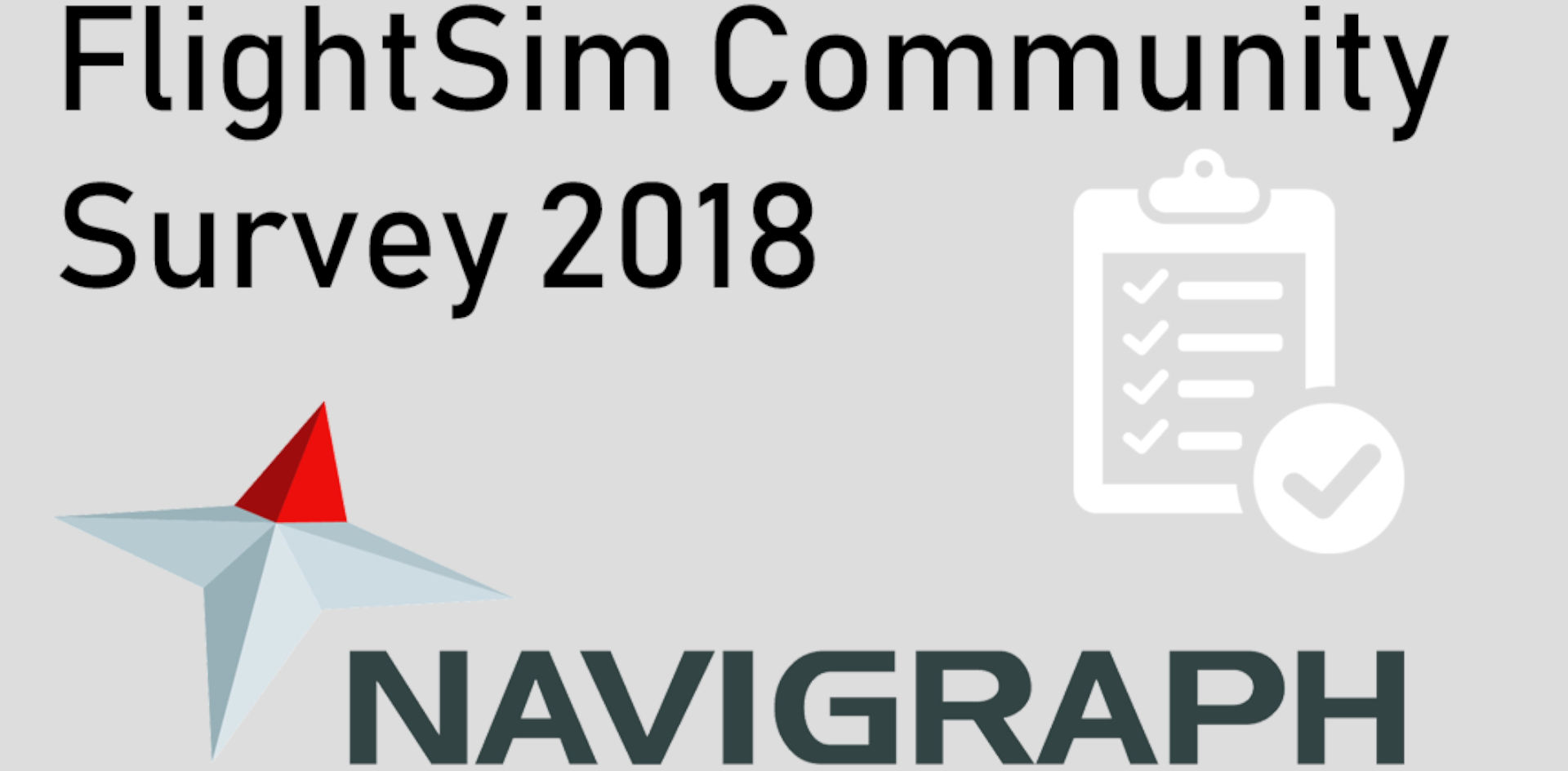 FlightSim Community Survey 2018 Navigraph