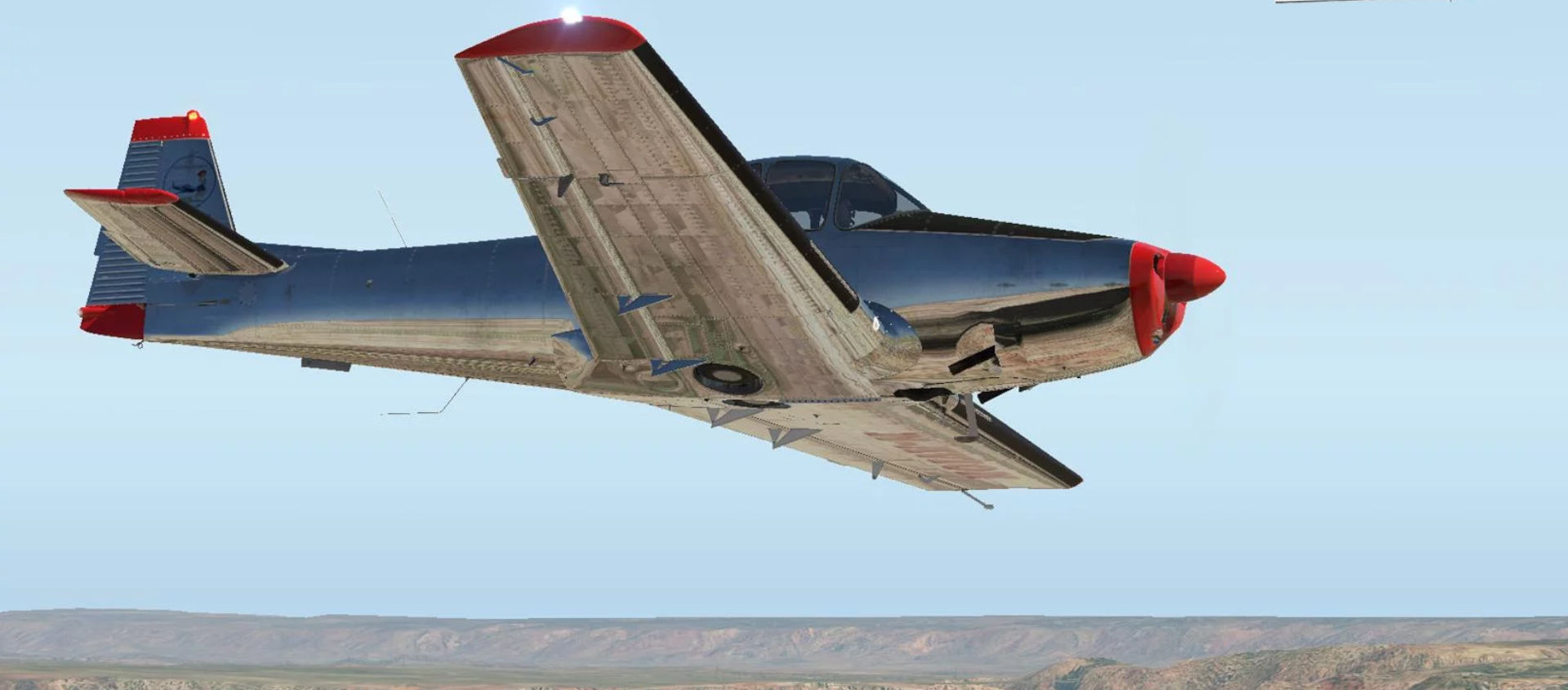 vFlyteAir Ryan Navion 205 Vintage Freeware