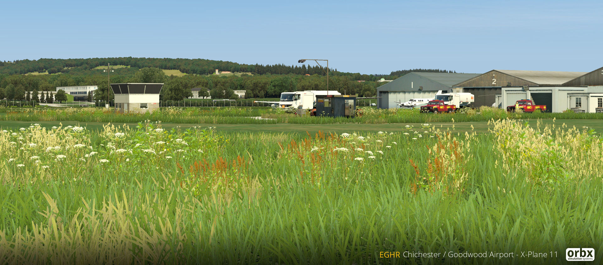 Chichester/Goodwood Airport Orbx X-Plane 11