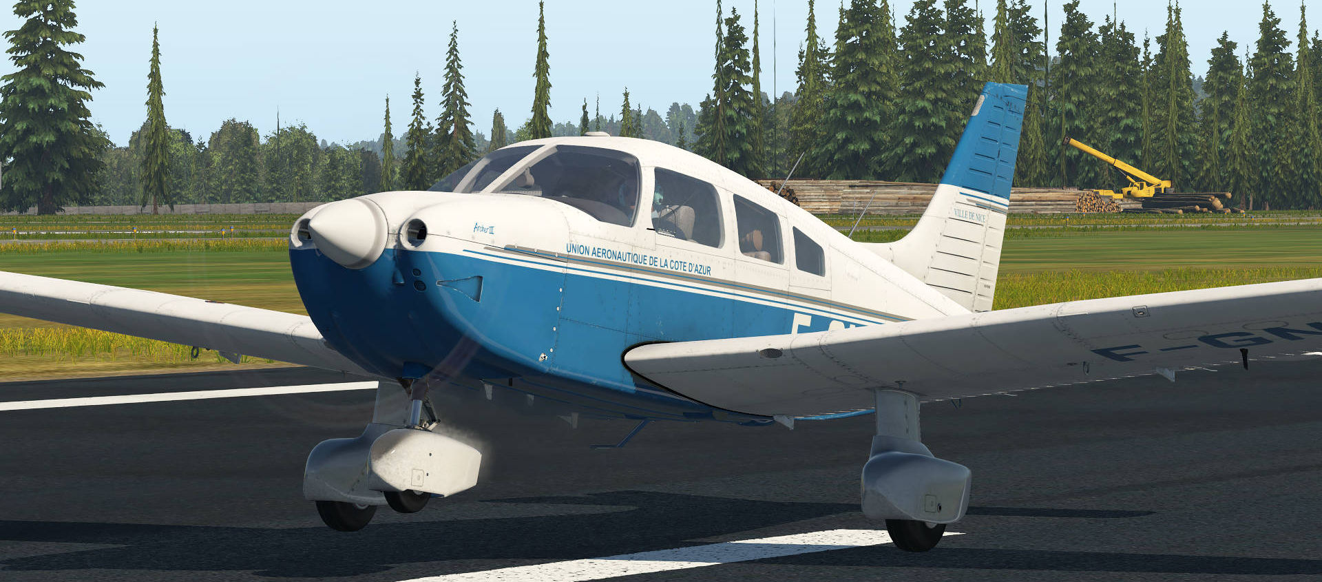 Just Flight PA-28-181 Archer III X-Plane 11 Release