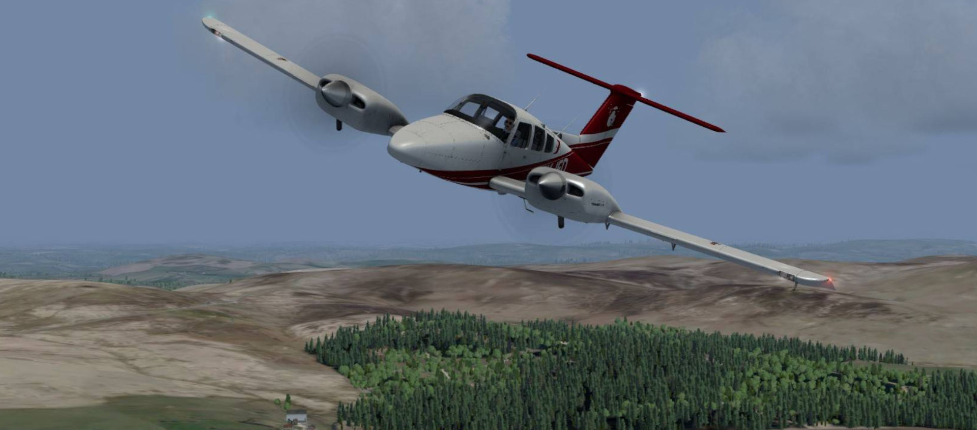 Just Flight VFR Real Scenery Vol 1 Release