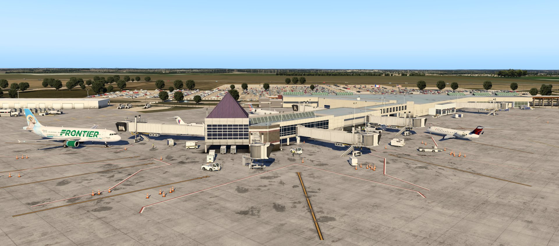 Eastern Iowa Airport X-Plane 11