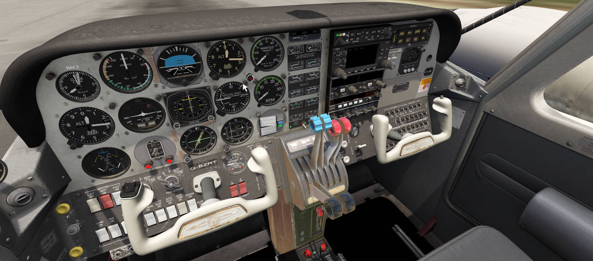 Just Flight Duchess Model 76 Aerofly FS 2 Preview