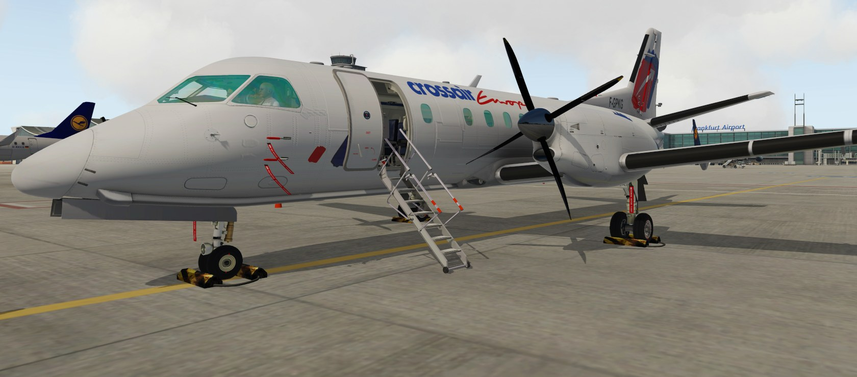Leading Edge Simulation LES Saab 340A