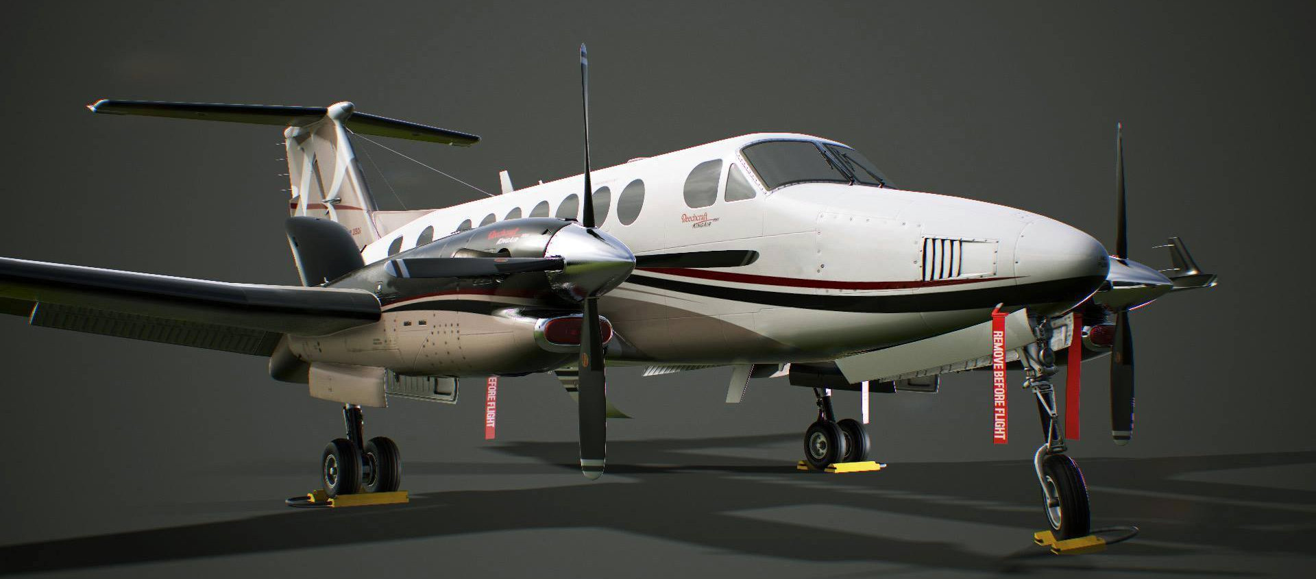 Milviz King Air 350i PBR Preview