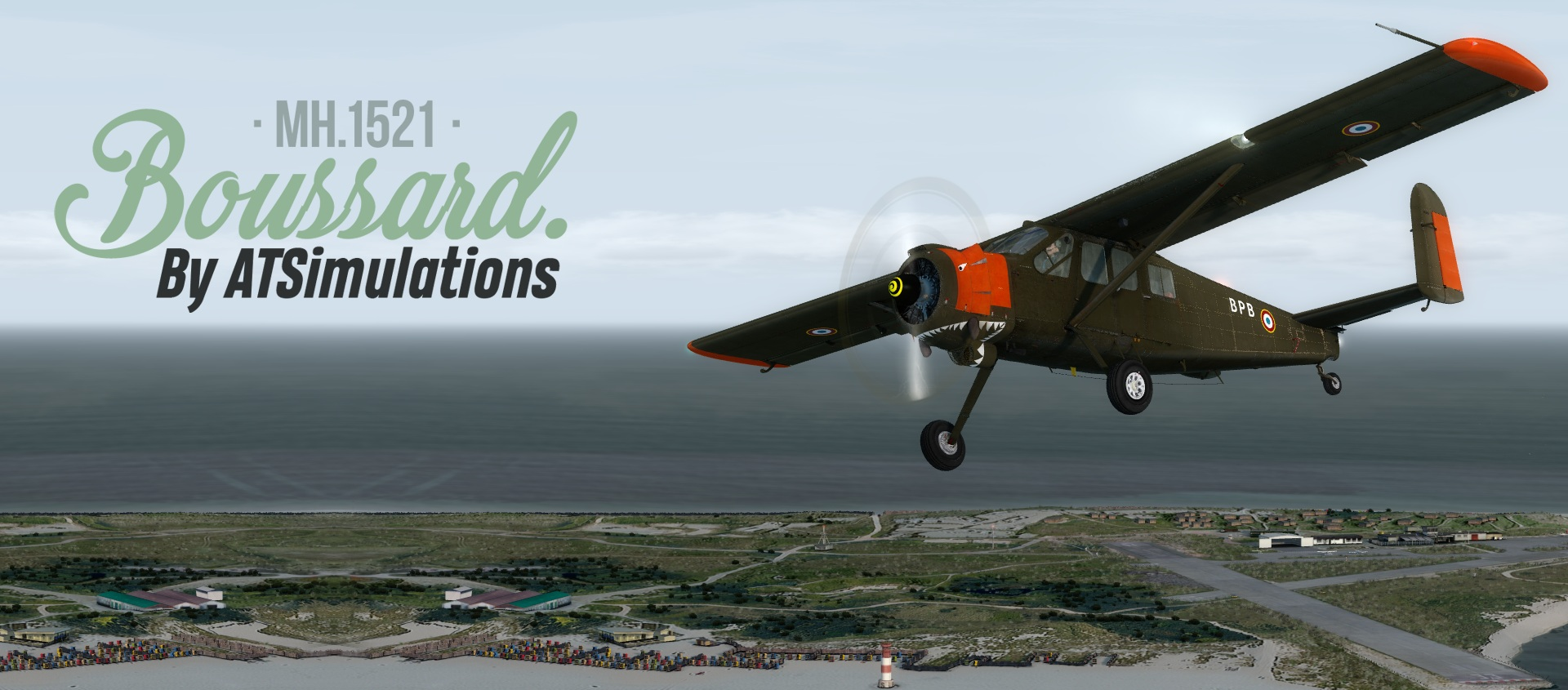 ATSimulations – Max Holste MH.1521 Broussard Review