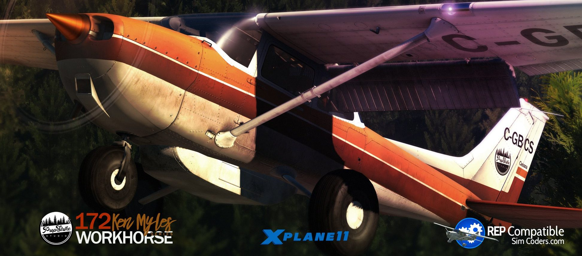 Das Cessna 172 Bush Kit von Prop-Strike Studio