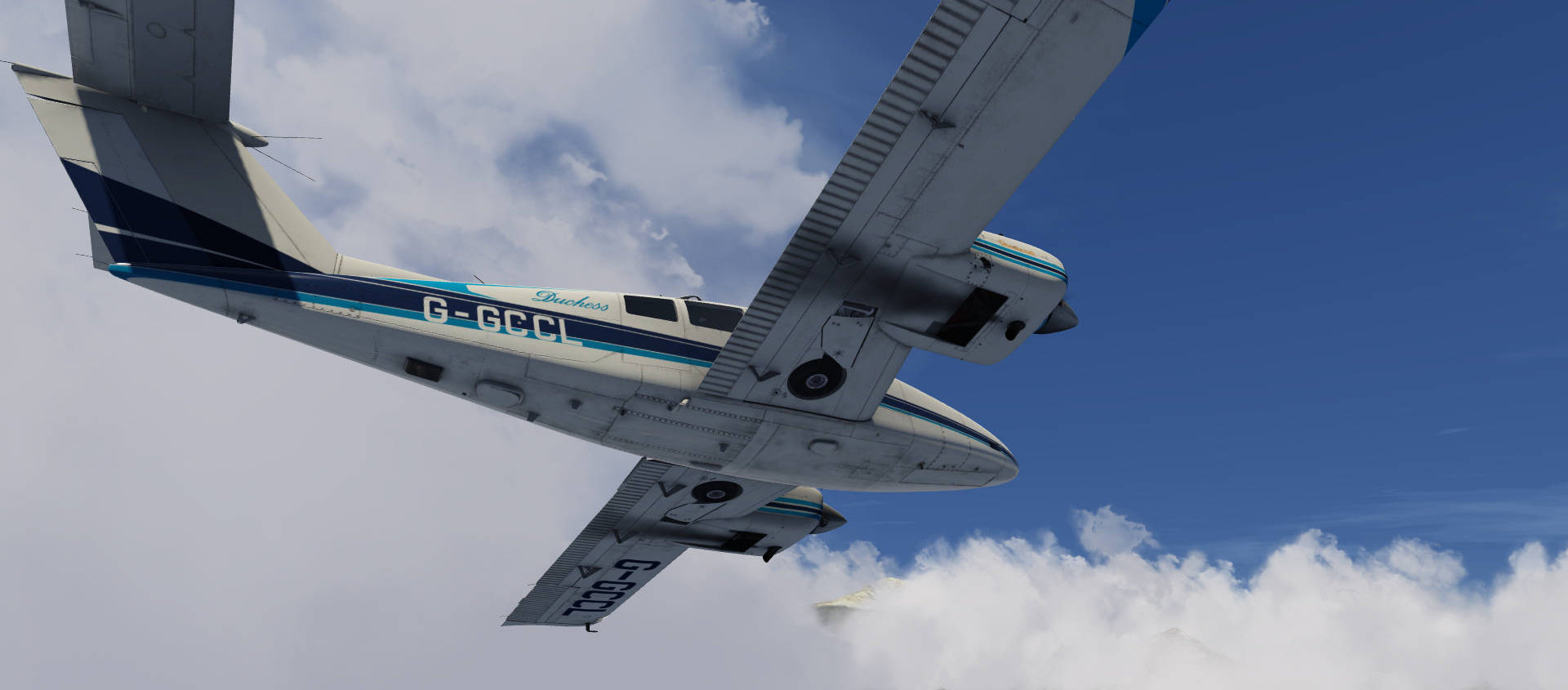 Just Flight Beech Duchess 76 Aerofly FS 2 Release