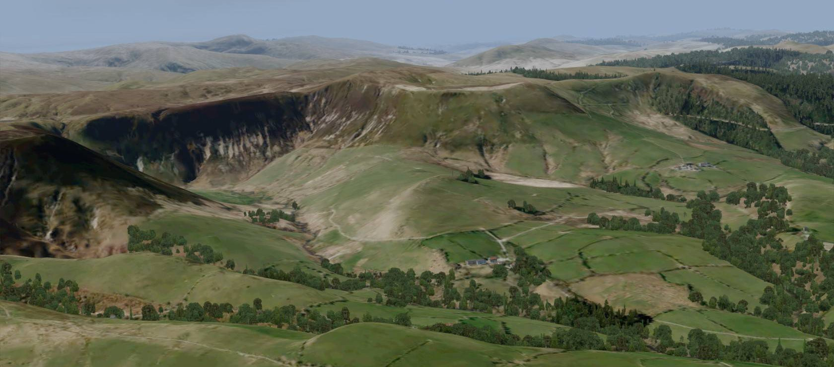 VFR Real Scenery NexGen 3D Central England North Wales Release